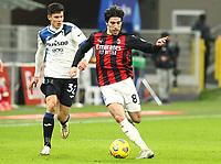 Milano  23-01-2021<br /> Stadio Giuseppe Meazza<br /> Campionato Serie A Tim 2020/21<br /> Milan - Atalanta<br /> nella foto:     Tonali                                                     <br /> Antonio Saia Kines Milano