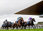 September 15, 2019 : Fairyland #11, ridden Ryan Moore, wins the Derrinstown Stud Flying Five Stakes during Irish Champions Weekend Day Two at The Curragh in Curragh, Ireland. Scott Serio/Eclipse Sportswire/CSM