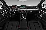 Stock photo of straight dashboard view of 2017 BMW 3-Series-GT Sport 5 Door Hatchback Dashboard