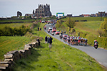 Picture by Shaun Flannery/SWpix.com - 28/04/2017 - Cycling - 2017 Tour de Yorkshire - Day 1 - Bridlington to Scarborough<br /> Whitby Abby