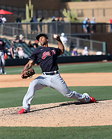 Anthony Gose - Cleveland Indians 2020 spring training (Bill Mitchell)