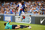 SO KON PO, HONG KONG - JULY 30: Jason Roberts of Blackburn Rovers in action against Kitchee during the Asia Trophy pre-season friendly match at the Hong Kong Stadium on July 30, 2011 in So Kon Po, Hong Kong.  Photo by Victor Fraile / The Power of Sport Images