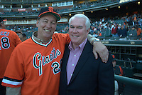 Baseball: Colorado Rockies vs San Francisco Giants, 1978 team reunion with John Montefusco and Pat Gallagher. San Francisco, CA 5/31/2003 MANDATORY CREDIT: Brad Mangin