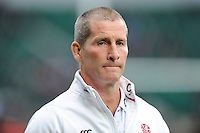 Stuart Lancaster, England Head Coach, during the match between England and Barbarians at Twickenham Stadium on Sunday 31st May 2015 (Photo by Rob Munro)