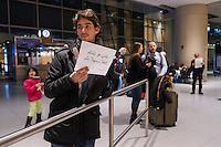 Logan Airport - Terminal E - Volunteer lawyers - Trump Executive Order Muslim Travel Ban - Boston, M