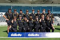 CS Wellington College during the Gillette Cup Finals, Hagley Park, Christchurch, New Zealand. 5th December 2019. Photo: John Davidson, www.bwmedia.co.nz