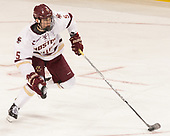 Casey Fitzgerald (BC - 5) - The visiting Merrimack College Warriors defeated the Boston College Eagles 6 - 3 (EN) on Friday, February 10, 2017, at Kelley Rink in Conte Forum in Chestnut Hill, Massachusetts.