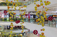 Yangzhou, Jiangsu, China.  Wanda Shopping Mall, Interior Scene.