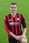 Matthew Buchanan, St Johnstone FC...Season 2014-2015<br /> Picture by Graeme Hart.<br /> Copyright Perthshire Picture Agency<br /> Tel: 01738 623350  Mobile: 07990 594431