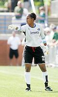 Karina LeBlanc...Saint Louis Athletica and LA Sol, played to a 0-0 tie at Robert Hermann Stadium in St Louis, MO. April 25 2009.
