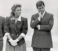 1989 FILE PHOTO - ARCHIVES -<br /> <br /> Great Britain - Royalty - Royal Tours - Duke and Duchess of York (1989)