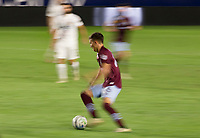 CARSON, CA - SEPTEMBER 19: Cole Bassett #26 of the Colorado Rapids moves with the ball during a game between Colorado Rapids and Los Angeles Galaxy at Dignity Heath Sports Park on September 19, 2020 in Carson, California.