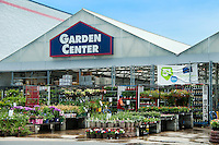 Commercial garden center of Lowes.