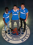 Howay the lads: Gael Bigirimana, Haris Vuckic and Remie Streete sign on loan from Newcastle