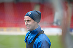 St Johnstone Training….17.03.17<br />Steven MacLean pictured during training this morning at McDiarmid Park ahead of tomorrow's trip to Motherwell.<br />Picture by Graeme Hart.<br />Copyright Perthshire Picture Agency<br />Tel: 01738 623350  Mobile: 07990 594431