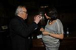 """FRANCO CALIFANO E NUNZIO DE GIROLAMO<br /> PRESENTAZIONE LIBRO """"DETENUTI"""" DI MELANIA RIZZOLI<br /> BIBLIOTECA ANGELINA  ROMA 2012"""