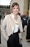 October 2 2017, PARIS FRANCE<br /> the HermËs Show at the Paris Fashion Week<br /> Spring Summer 2017/2018. Actress Julie Gayet arrives at the show.