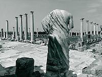 Gymnasium, Ausgrabung von Salamis, Nordzypern 1992