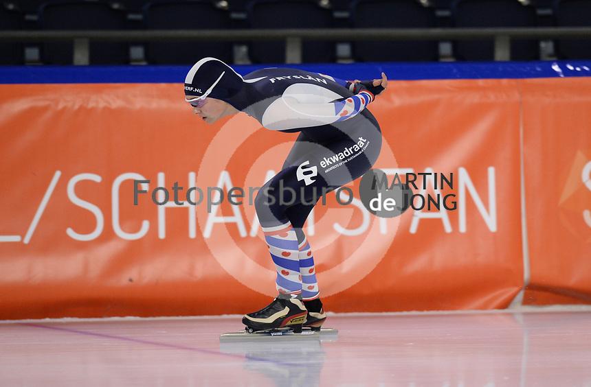 SCHAATSEN: HEERENVEEN: 10-10-2020, KNSB Trainingswedstrijd, Jildou Hoekstra, ©foto Martin de Jong