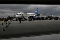 BOMBARDIER C-serie plane<br /> <br /> PHOTO  :  Agence Quebec Presse