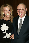 Neil Simon and wife Elaine Joyce Attending the Opening night performance of Neil Simon's THE ODD COUPLE at the Brooks Atkinson Theatre in New York City.<br />October 27, 2005