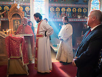 Tribute to the founders of St. Sava church