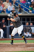 Quad Cities River Bandits first baseman Colton Shaver (37) at bat during a game against the West Michigan Whitecaps on July 22, 2018 at Modern Woodmen Park in Davenport, Iowa.  West Michigan defeated Quad Cities 6-4.  (Mike Janes/Four Seam Images)