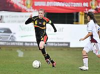 Russia U19 - Belgium U19 : Julie Biesmans.foto DAVID CATRY / Nikonpro.be