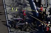 NASCAR XFINITY Series<br /> Ticket Galaxy 200<br /> Phoenix Raceway, Avondale, AZ USA<br /> Saturday 11 November 2017<br /> Christopher Bell, Safelite Toyota Camry, pit stop<br /> World Copyright: Michael L. Levitt<br /> LAT Images