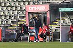 08.11.2020, Dietmar-Scholze-Stadion an der Lohmuehle, Luebeck, GER, 3. Liga, VfB Luebeck vs KFC Uerdingen 05 <br /> <br /> im Bild / picture shows <br /> Trainer Stefan Krämer/Kraemer (KFC Uerdingen 05)  ist<br /> enttäuscht/enttaeuscht<br /> <br /> DFB REGULATIONS PROHIBIT ANY USE OF PHOTOGRAPHS AS IMAGE SEQUENCES AND/OR QUASI-VIDEO.<br /> <br /> Foto © nordphoto / Tauchnitz