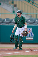 USF Bulls catcher Tyler Dietrich (38) during a game against the Dartmouth Big Green on March 17, 2019 at USF Baseball Stadium in Tampa, Florida.  USF defeated Dartmouth 4-1.  (Mike Janes/Four Seam Images)