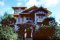 Philippines: Baguio--Old House, elevation. Photo '82.