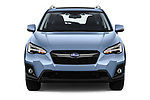 Car photography straight front view of a 2018 Subaru XV Premium 5 Door SUV