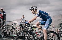 Julien Vermote (BEL/Quick-Step Floors) up the highest point in the 2017 TdF: The Galibier (HC/2642m/17.7km/6.9%)<br /> <br /> 104th Tour de France 2017<br /> Stage 17 - La Mure › Serre-Chevalier (183km)