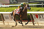 June 7, 2014: Palace Malice with John Velzaquez win the 121st running of the Grade I Metropolitan Handicap for 3-year old & up, going 1 mile at Belmont Park. Trainer: Todd PLetcher. Owner: Dogwood Stables . Sue Kawczynski/ESW/CSM