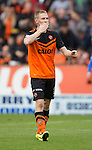 Dundee United v St Johnstone...27.09.14  SPFL<br /> Chris Erskine celebrates his goal<br /> Picture by Graeme Hart.<br /> Copyright Perthshire Picture Agency<br /> Tel: 01738 623350  Mobile: 07990 594431