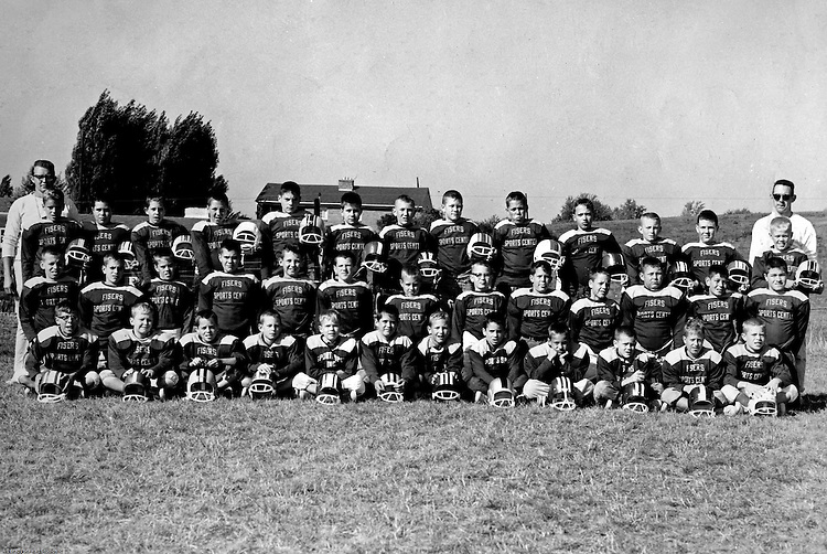 Bethel Park PA:  Bethel Recreation Football League Fisher's Sports Center Team. Team members include; Don Troup, Mike Stewart, Tony Zimmer and had a lot of trouble remembering the rest!
