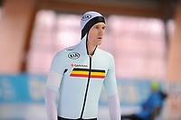 SPEEDSKATING: ERFURT: 19-01-2018, ISU World Cup, 500m Men B Division, Mathias Vosté (BEL), photo: Martin de Jong