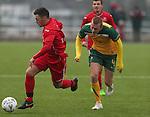Welsh Colleges Football v Australian Schools.<br /> Cardiff Metropolitan University.<br /> 23.01.15<br /> ©Steve Pope -SPORTINGWALES