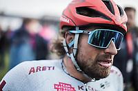 Marco Haller (AUT/Katusha Alpecin), post race<br /> <br /> 117th Paris-Roubaix (1.UWT)<br /> 1 Day Race: Compiègne-Roubaix (257km)<br /> <br /> ©kramon