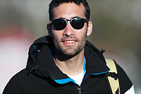 21st February 2021; Cortina d'Ampezzo, Italy; FIS Alpine World Ski Championships 2021 Cortina Men's Slalom; Martin Fourcade French Olympic Champion attends the event