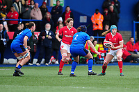 Gwen Crabb of Wales in action during the Women's six nations championship match between the Wales and Italy at Cardiff Arms Park in Cardiff, Wales, UK. Sunday 02 February 2020