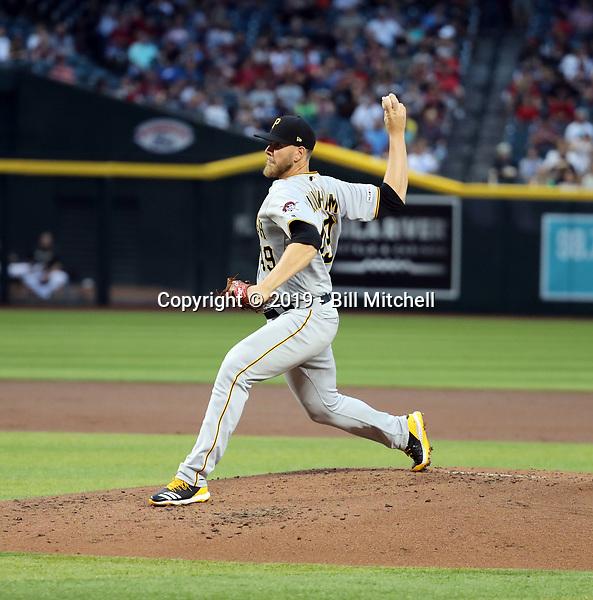 Nick Kingham - 2019 Pittsburgh Pirates (Bill Mitchell)