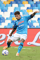 Giovanni Di Lorenzo of SSC Napoli<br /> during the Serie A football match between SSC Napoli and Atalanta BC at stadio San Paolo in Napoli (Italy), October 17th, 2020. <br /> Photo Cesare Purini / Insidefoto