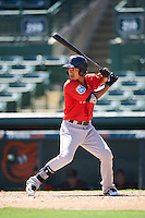 Boston Red Sox Tzu-Wei Lin (7) during an Instructional League game against the Baltimore Orioles on September 22, 2016 at the Ed Smith Stadium in Sarasota, Florida.  (Mike Janes/Four Seam Images)