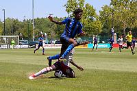 Kansas City, MO. - Sunday July 8, 2018: US Soccer Boys' DA U-16/17 Semi Final Atlanta United FC vs Montreal Impact FC at Swope Soccer Village.