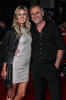 """HOLLYWOOD, CA - MARCH 06: Caitlin Manley, Timothy V. Murphy at the Los Angeles Premiere Of DreamWorks Pictures' """"Need For Speed"""" held at TCL Chinese Theatre on March 6, 2014 in Hollywood, California. (Photo by Xavier Collin/Celebrity Monitor)"""