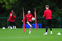 Jonny Williams of Wales during the Wales Training Session at The Vale Resort in Cardiff, Wales, UK. Monday 07 October 2019