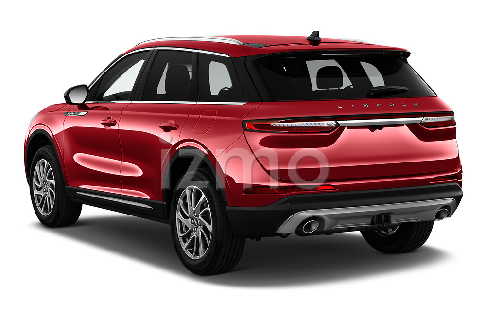 Car pictures of rear three quarter view of 2021 Lincoln Corsair - 5 Door SUV Angular Rear