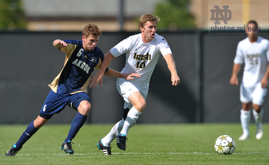 Sept. 9, 2012; Kyle Richard (16) ..Photo by Matt Cashore/University of Notre Dame